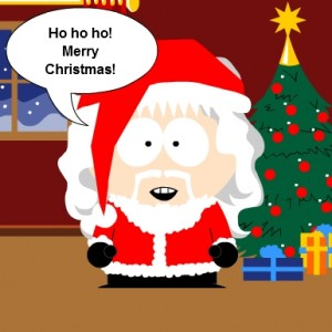 South Park Santa